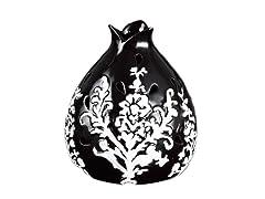 Black Flower Decorative Fragrance Warmer
