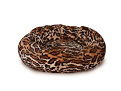 Slumber Pet™ Cozy Kitty Bed - Cheetah