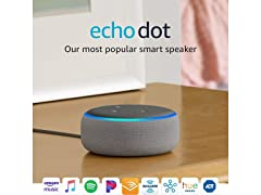 Echo Dot (3rd Gen) - Smart Speaker
