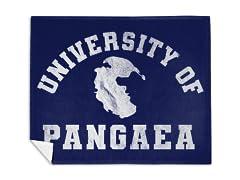 University of Pangaea Mink Fleece Blanket