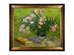 Van Gogh - Majolica Jar with Branches of Oleander