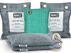 RejuvenAir 5-Pack Bamboo Air Freshener Bags