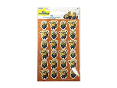 96 Minions Stickers - 4 Identical Sheets
