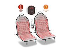 Zone Tech Car Heated Seat Cushion Covers
