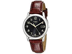 Timex Mens South Street Leather Strap Watch