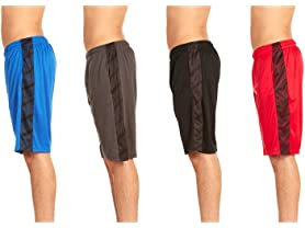 Men's Athletic Performance Shorts 4-Pack