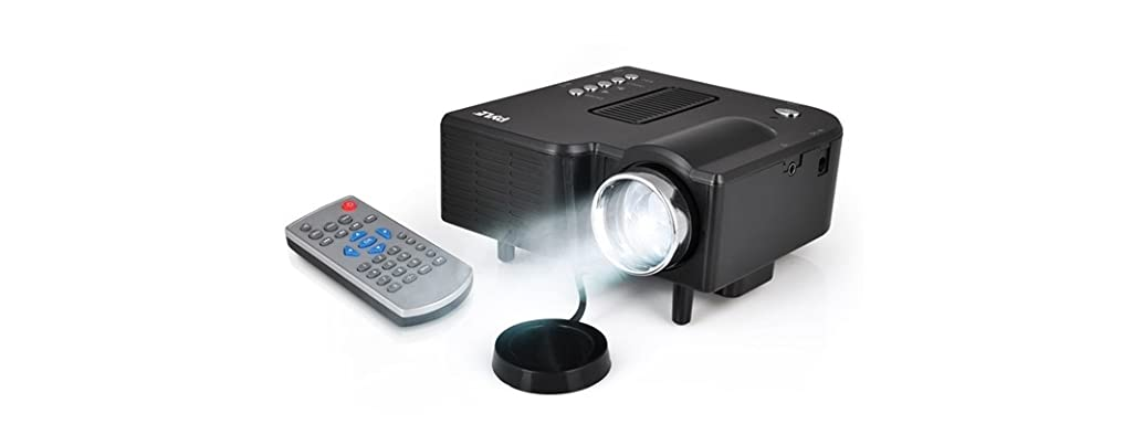 Pyle mini led gaming projector for Small powerful projector