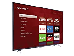 "TCL 55"" 4K UHD Roku Smart LED TV"