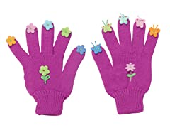 Butterfly Knit Gloves (LG)