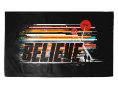 """Be a Believer"" 3' x 2' Rug"