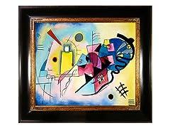 Kandinsky - Juane Rouge Bleu