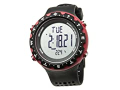 Men's Singletrak Black/Red Digital Watch