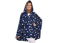 Cozy Fleece Hooded Wearable Blanket