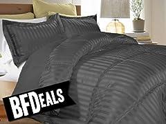 Striped Down Alternative Comforters
