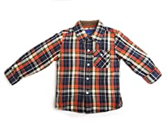 Oxford Shirt - Flannel (2T-4T)