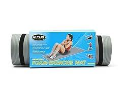Altus 15mm Exercise Mat w/ Strap