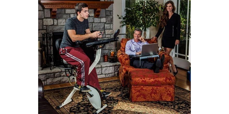 Fitdesk V2 0 Desk Exercise Bike With Massage Bar