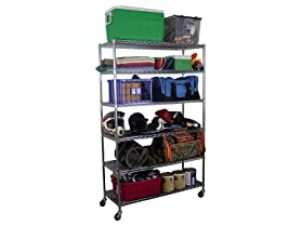 SafeRacks Wire Shelving Storage Unit