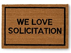 WE LOVE SOLICITATION Mat