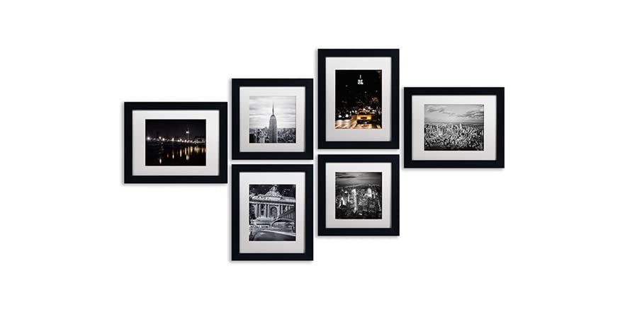 Urban Gallery Wall Collection Set Of 6