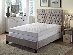 "8"" 5-Zone Memory Foam Mattress - Cal King"