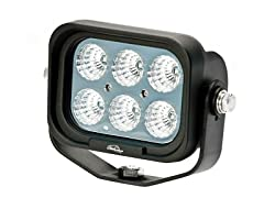 6-Inch 3-Watt 6 LED Flood LED Utility Light
