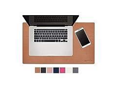 "Modeska 24"" x 14"" Leather Desk Pad"