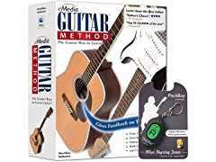 eMedia Guitar Method v6 with Mini Tuner