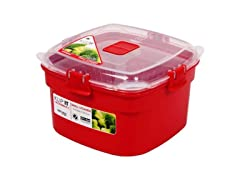 Sistema Small Steamer Red 6.25 cups