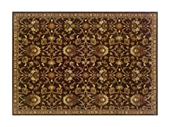 Olivia Area Rug Brn/Beige  - 5 Sizes