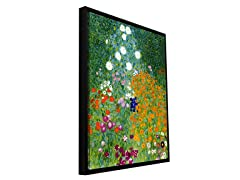 Klimt 'Farm Garden' Framed (2 Sizes)