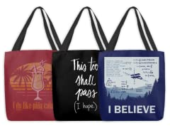 That's Life! Tote Bags