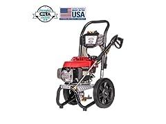 Simpson Honda 2800 PSI Gas Pressure Washer