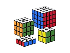 Hasbro Rubik's Solve The Cube - 4 Pack