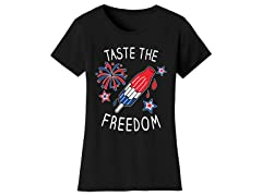 Womens Taste The Freedom Tee