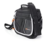 Leto Handlebar Bag - Black