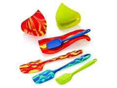 Fiesta 7pc Silicone Kitchen Set