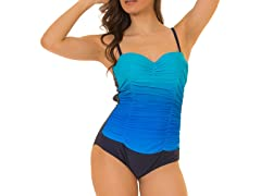 Coco Limon One Piece Missy Swimsuit, Blue