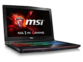 "MSI GE62 Apache Pro 15.6"" Intel i7 Gaming Laptop"