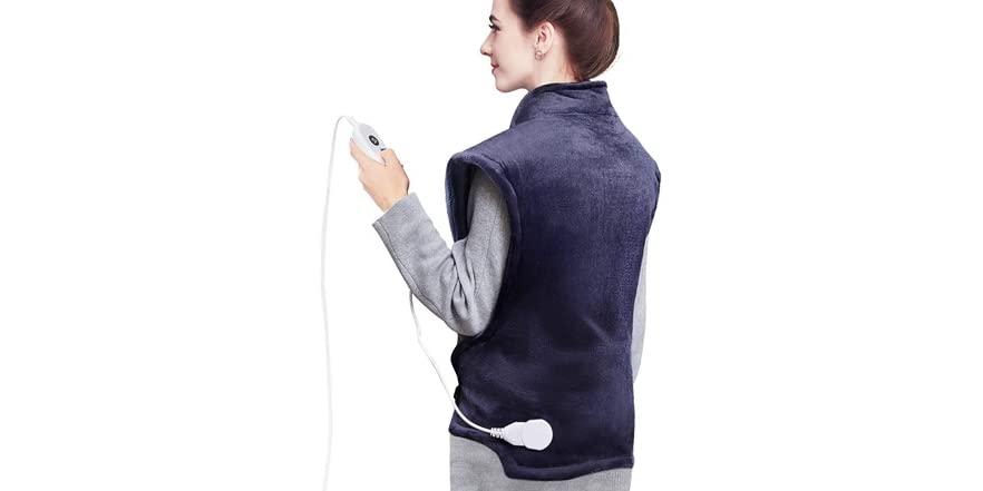 Homech Heating Pads for Back Pain and Cramps   WOOT
