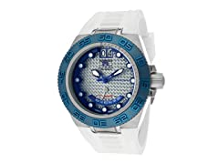 Subaqua - Silver & Blue Dial / White Poly