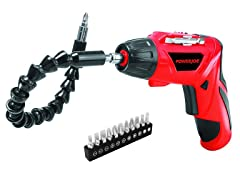 Lithium-Ion Cordless Pivot Screwdriver Kit