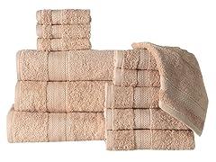 12-Piece Towel Set & Bath Sheet