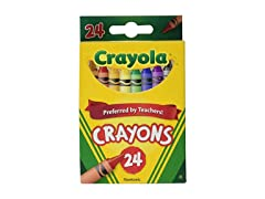 Crayola Crayons 24 Colors (Set of 12)