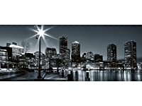 Deals on Dimex 59-inch x 147.6-inch Boston Wall Mural