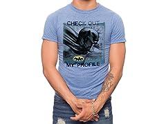 Batman Check Out My Profile T-Shirt