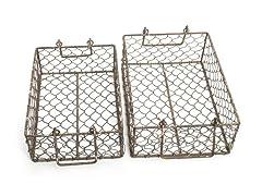 Nesting Metal Baskets