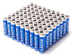 AA STAMINA PLUS Batteries - 72 Pack