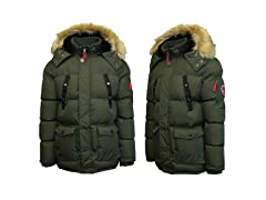 Mens Heavy Weight Military Parka