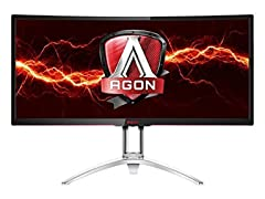 "AOC 35"" Curved WQHD Gaming Monitor"